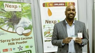 Dakshin Thilina from Sri Lankan food group Nexpo Conversion