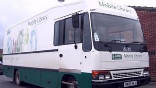 Dorset mobile library van