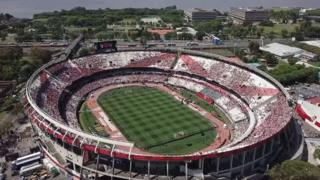Estadio Monumental.