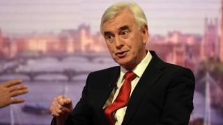 John McDonnell MP, Labour Shadow Chancellor, interviewed by Andrew Marr
