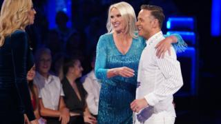 Anneka Rice on Strictly Come Dancing
