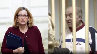 Amber Rudd and Sergei Skripal