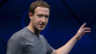 Marck Zuckerberg en una reciente conferencia en California
