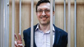 Оглашение приговора Александру Поткину в августе 2016 года