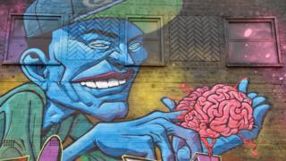 Street art by GENT 48