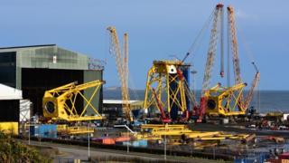 BiFab at Burntisland docks
