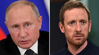 Vladimir Putin, Bradley Wiggins
