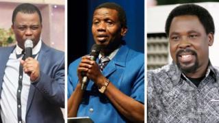 Daniel Olukoya, Enoch Adeboye ati Temitope Joshua