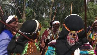 Phụ nữ người Oromo, Ethiopia
