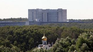 Здание Службы внешней разведки в Москве