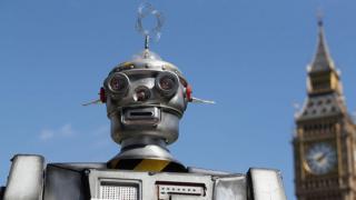 Робот-участник демонстрации