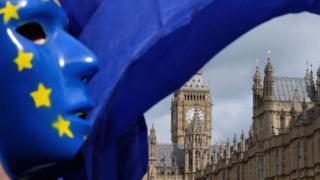 EU flag at Parliament