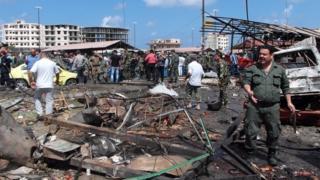 Tartous bomb site