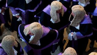 Judges mark start of legal year with a service at Westminster Abbey