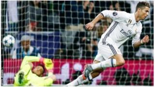 Cristiano Ronaldo amaze imyaka umunani akinira ikipe ya Real Madrid