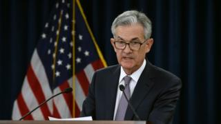 US Fed chairman Jerome Powell