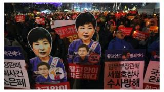 首爾抗議示威