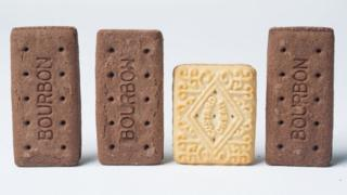 Custard cream and bourbons