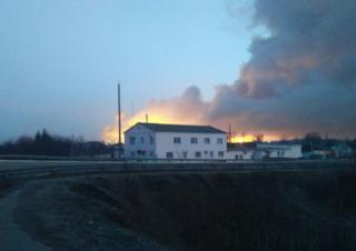 Пожар начался около 3:00 23 марта