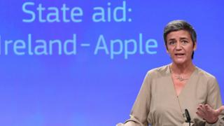 EU's competition chief Margrethe Vestager