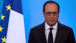 Perezida w'Ubufaransa Francois Hollande