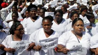 Wafuasi wa kiongozi wa upinzani DRC