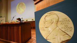 портрет Нобеля