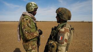 soldiers for Sahel foce
