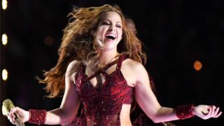 Shakira in the Super Bowl