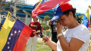 Venezolana en Miami