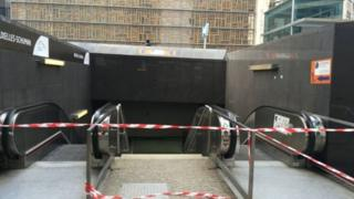The whole metro system has been closed following a blast at Maelbeek station