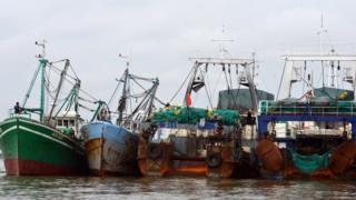 Tàu đánh cá Trung Quốc (ảnh minh họa)
