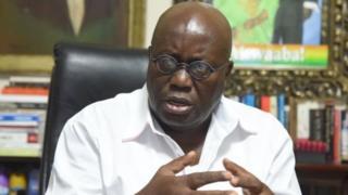 Shugaban kasar Ghana Nana Akufo Addo
