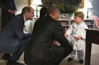 Obama meets Prince William