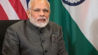 Le Premier ministre indien Narendra Modi