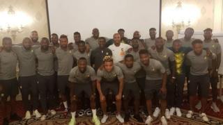 Di Afcon 2019 sqaud