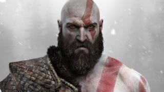 Kratos from the game of God of War