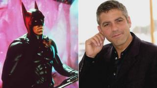 Geor ge Clooney in and out of costume