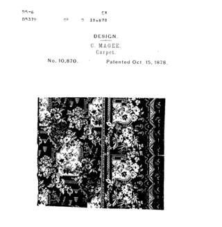 Patent filing for a carpet