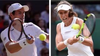 Konta (kulia) hajawahi kushinda taji la Wimbledon