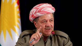 مسعود بارزانی، رئیس اقلیم کردستان عراق