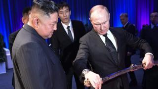 زعيم كوريا الشمالية والرئيس الروسي