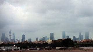Kuwait City skyline (November 2012)