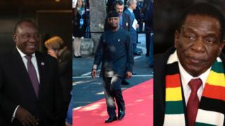 Vice presidos wey dey shake table for Africa