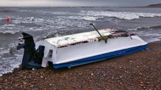 Boat following rescue