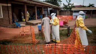Ahanini ubwandu bwa Ebola bwarahagaritswe muri Kongo