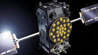 A Galileo satellite