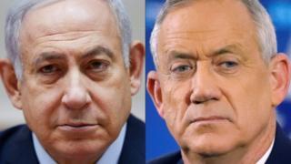 Binyamin Netanyahu ve Benny Gantz