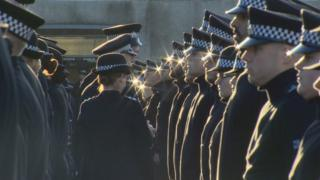 Scottish police officers