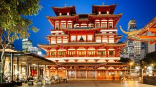 Buddha Tooth Relic Temple Singapur